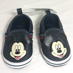 Disney Shoes - Disney Baby Boy Mickey Mouse Slip-on Shoes 6-9M